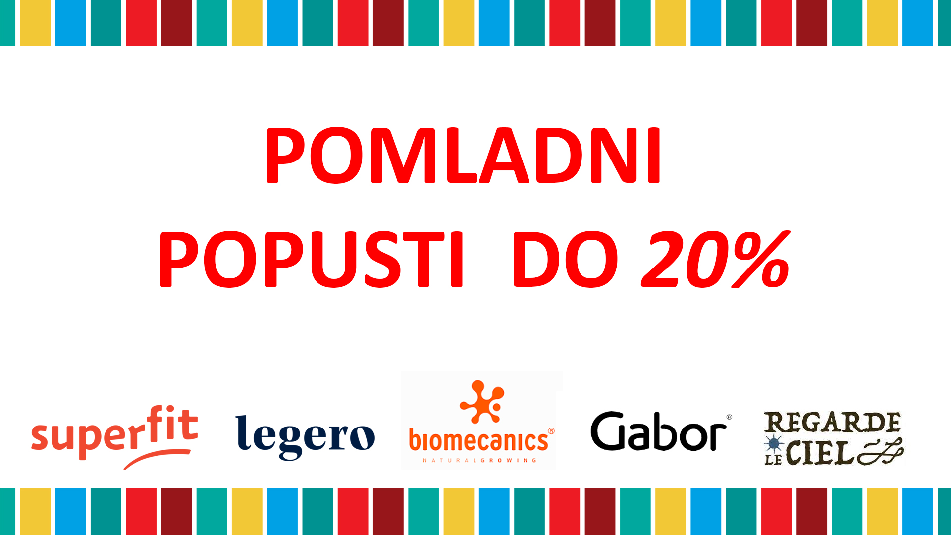 Pomladni popust 2021 - do 20%